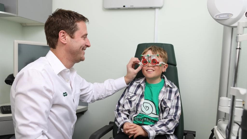 Boy's first visit to an optometrist saves his sight