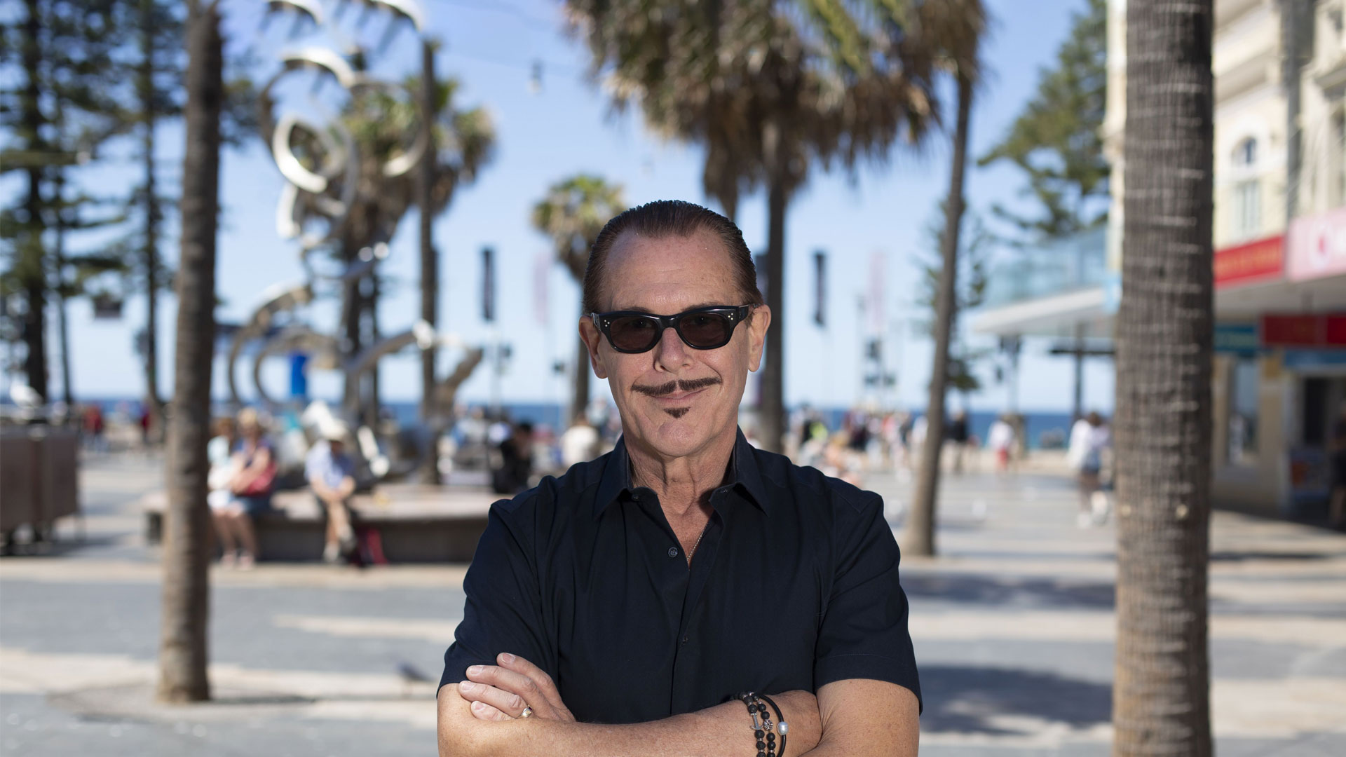 INXS star Kirk Pengilly reveals how glaucoma almost blinded him