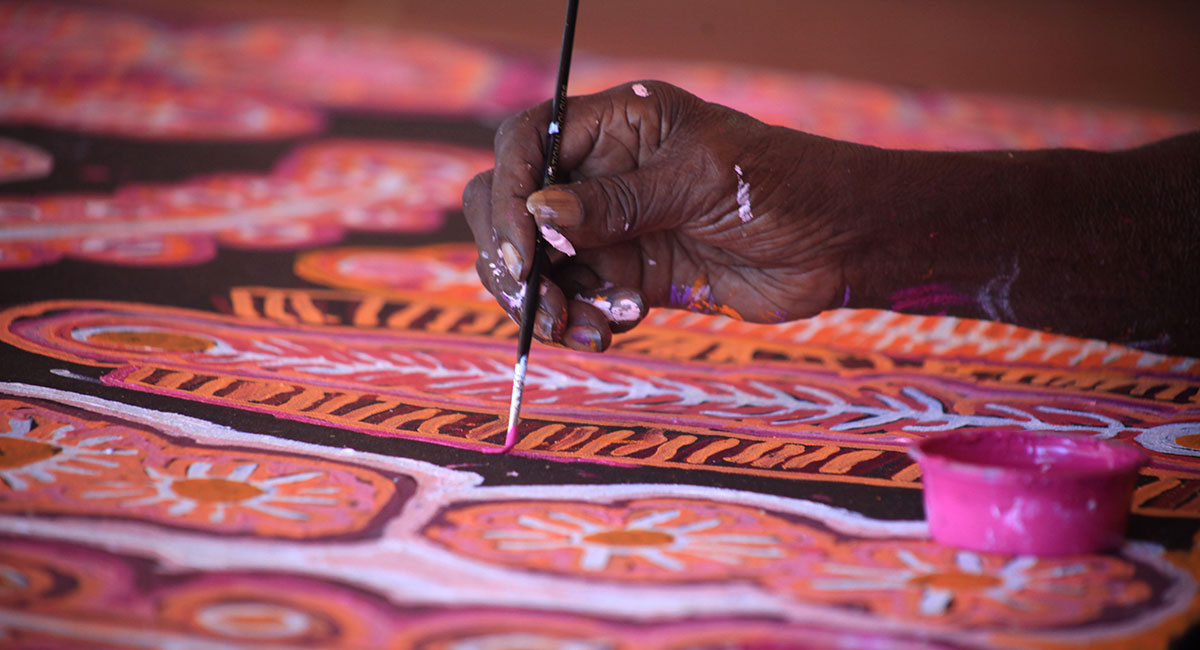 Indigenous Australian artwork featured on new glasses collection